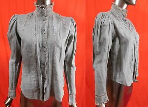 Vintage La Rochelle linen blouse shirt Blouse Smeter