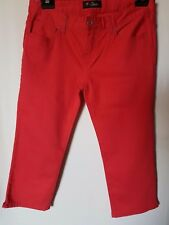 """WOMEN'S JEANS GUESS CROPPED/3/4 LENGTH STRETCH SIZE 12/30"""" LEG 20.5"""""""
