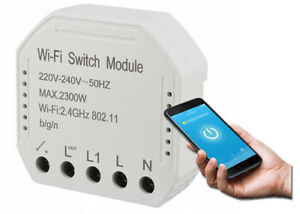 Tuya Wifi Smart Schalter Modul 1G Sprachsteuerung Für Alexa Google Assistant