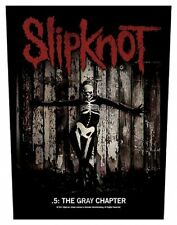 Slipknot-dos écusson backpatch the Gray Chapter