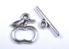 FREE SHIP 10set Tibetan Silver apple Toggle Clasps Finding  SH776