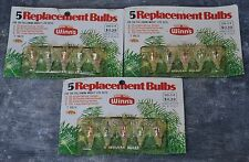 Vintage Lite Replacement Bulb Set Flower Tulip Multicolored Christmas Lights NIP