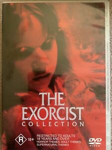 DVD: The Exorcist Collection - Exorcist + Exorcist 02: The Heretic + Exorcist 03