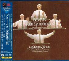 Brahms Four Symphonies Sir Adrian Boult Japan 3 SACD w/OBI NEW/SEALED