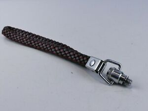 "VINTAGE BRADED 1/4"" WRIST CAMERA STRAP FOR LEICA ETC RR62"