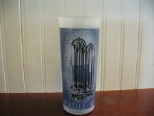1962 Frosted Seattle World's Fair US Science Pavillion Souvenir Glass