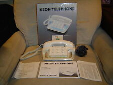 NEON CORDED TELEPHONE by LONESTAR