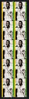 PELE BRAZIL FOOTBALL CHAMPION STRIP OF 10 VIGNETTE STAMPS 2