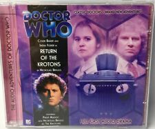 Doctor Who Return of the Krotons CD Full Cast Audio Drama Colin Baker Ind Fisher