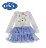 Promotion Robe imprimée La reine des neiges fille officiel Disney du 3 au 10 ans