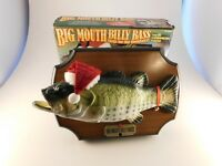 Vintage Big Mouth Billy Bass Christmas Singing Fish Gemmy 1999