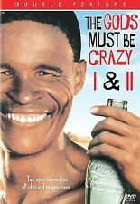 THE GODS MUST BE CRAZY 1 I & 2 II DVD SET
