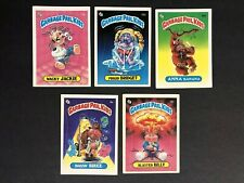garbage pail kids series 1 Gpk Matte Lot OS1 First Series Lot Of 5 Cards #5 Of10