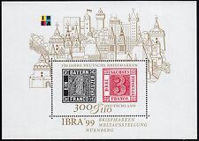 Bund Block 46 ** Intern. Briefmarkenausstellung IBRA 99