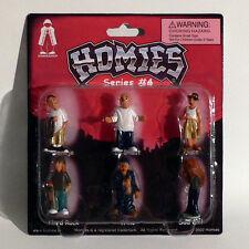 Homies Figuren / Figures - Series #4 Set 2 - 1:32 - 4,5 cm - Rarität - OVP - NEU