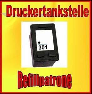 Refill Cartridge HP 301 XL 7ml Deskjet 1000 1010 1050 2050 2510 2540 3050A 3055A