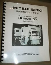 Mitsui Seiki Hmc Hu50A-5X Specification