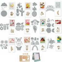 Vintage Fruit Summer Metal Cutting Dies Stencil Scrapbooking Album Embossing