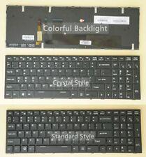 US Keyboard for Clevo P650RP6 P650RP6-G P650RS6-G P670RP6 P670RP6-G, RGB Backlit