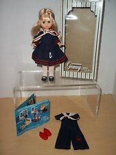 Vintage Vogue Ginny Doll in Sailor Dress Plus Sailor Jumpsuit and Red Shoes