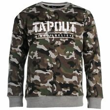 BNWT TAPOUT CAMOUFLAGE SWEATSHIRT XL RRP £29.99 FREE P&P