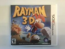 Replacement Case (NO GAME) Rayman 3D - Nintendo 3DS