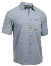 UNDER ARMOUR UA BACKWATER BUTTON DOWN FISHING LARGE SHIRT L