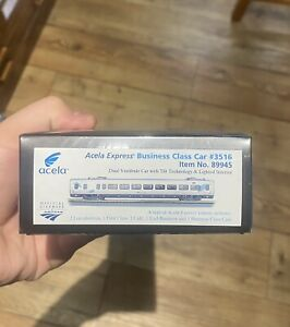 Ho Scale Amtrak Acela Bussiness Class Car Extremely Rare