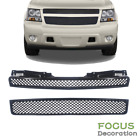 Black Mesh Grill Front Hood Bumper Grille For Tahoesuburbanavalanche 2007-2014