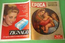 EPOCA1957 Sofia Loren + Renata Tebaldi + Garinei Et Giovannini + Ira Furstenberg