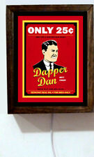 Dapper Dan Barber Shop Hair Pomade Retro Vintage Advertising Light Lighted Sign