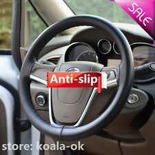 DIY PU Leather Car/ Auto Steering Wheel Cover With Needles and Thread hot GN