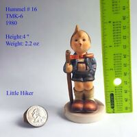 Genuine Vintage Goebel Hummel Figurine Little Hiker 1980 TMK-6 Hummel #16