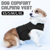Pet Comfort Calming Vest Thunder Calm Soft Jacket Harnesses Cotton Clothing