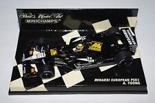 Minichamps F1 1/43 Minardi Europea PS01 A. YOONG