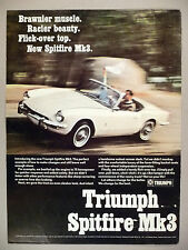 Triumph Spitfire Mk3 PRINT AD - 1967