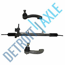 Power Steering Rack & Pinion - Sensor Port + NEW Outer Tie Rods 1 sensor Port