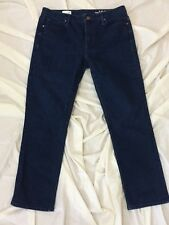 """8962 Juniors Womens GAP 1969 Real Straight Stretch Jeans, size 29 x 26.5"""" inseam"""