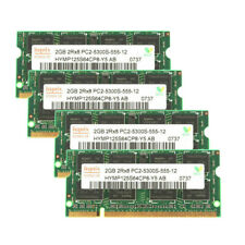 2GB (4GB) (8GB) for Hynix PC2-5300 DDR2-667 667Mhz 200pin PC5300 Laptop Memory