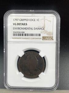 1797 Gripped Edge 1C VG Details J27