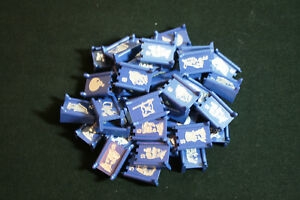 Milton Bradley Stratego Vintage 1975 1977 Board Game Part Piece Blue Choose