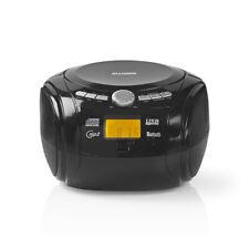 Sweex EXP1920BTBL CD-Player Boombox mit Bluetooth, USB, MP3, UKW, schwarz