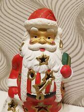 🌟 großer Weihnachtsmann 🌟 Windlicht 🌟 Weihnachten Deko 🌟
