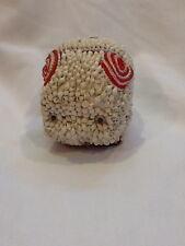 Collectible Vintage Sea Shell Cute Folk Art Piggly Pig Figurine Desk Decor