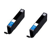 2 Cyan Ink For Canon CLI-551XL Pixma iP7200 iP7250 iP8750 iX6850 MG5450 MG5550