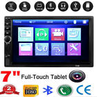 7inch 2DIN Car MP5 Player Bluetooth Touch Screen Stereo Radio HD USB AUX TF US