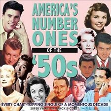 America's Number Ones of the '50s by Various Artists (CD, Nov-2011, Acrobat...