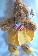 "Madame Alexander Radio City Rockettes 14"" Teddy Bear Plush Christmas Spectacular"