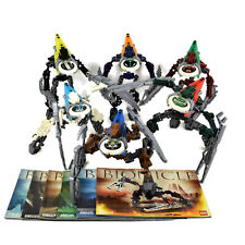 Lego Bionicle all 6 Vahki Sets 8614 thru 8619 Complete with Manuals No Canisters