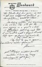 SHANNON DAY SILENT MOVIE ACTRESS THE VANISHING AMERICAN SIGNED LETTER AUTOGRAPH